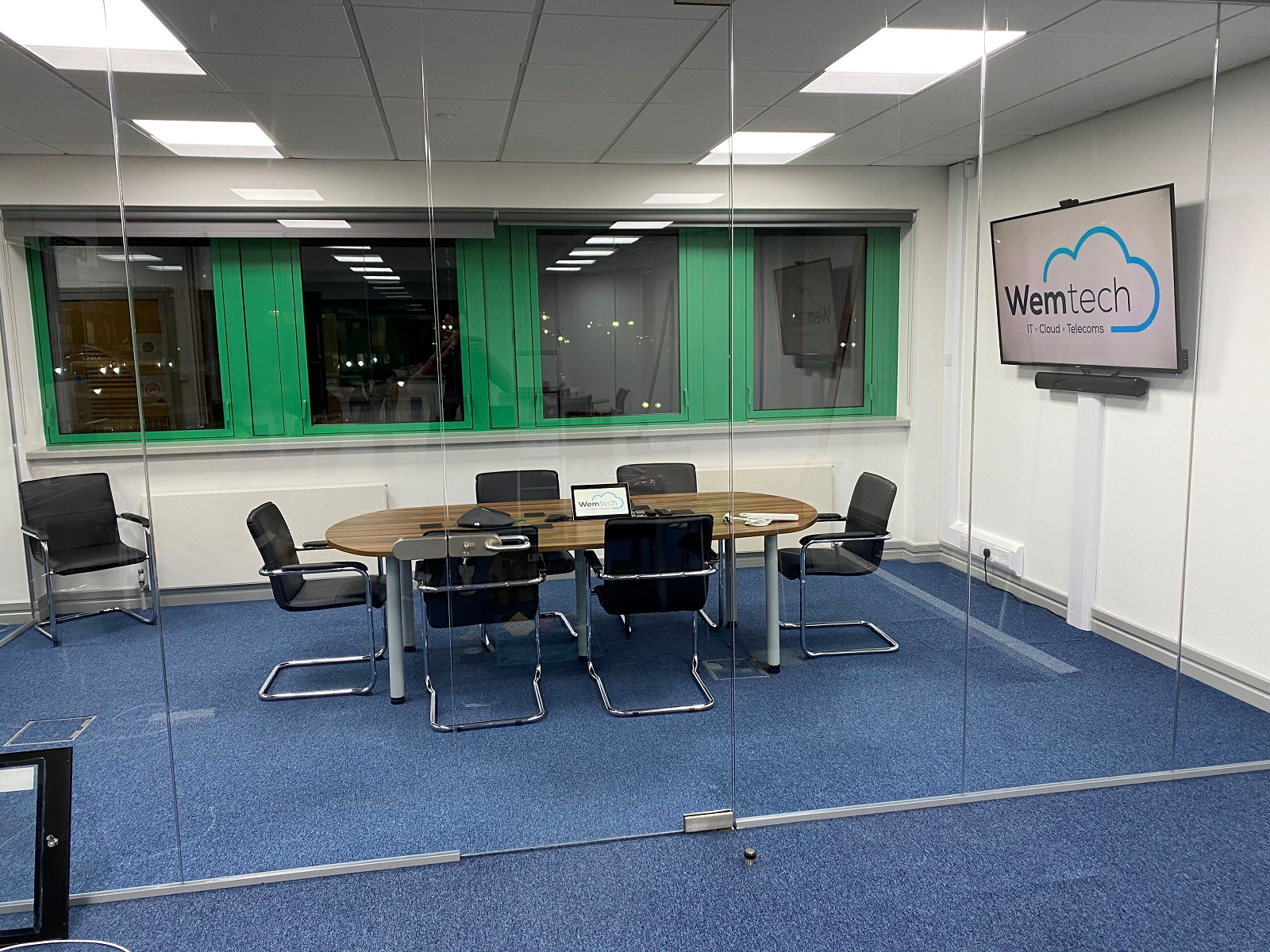 WemTech conference room interior